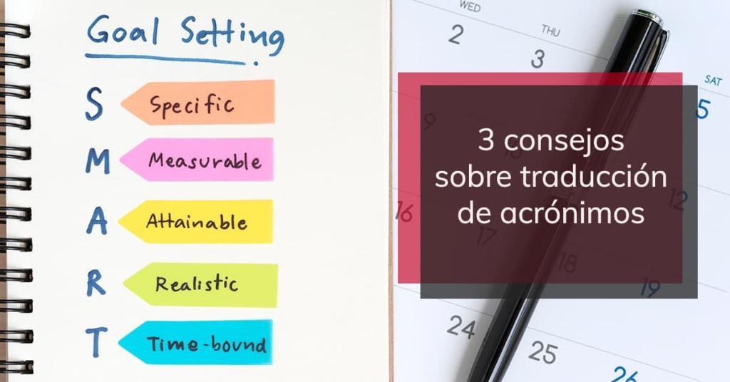 3 consejos sobre traducción de acrónimos