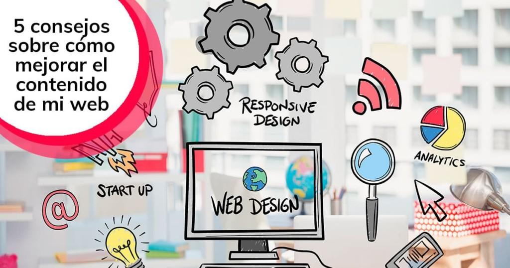 5 consejos sobre cómo mejorar el contenido de mi web