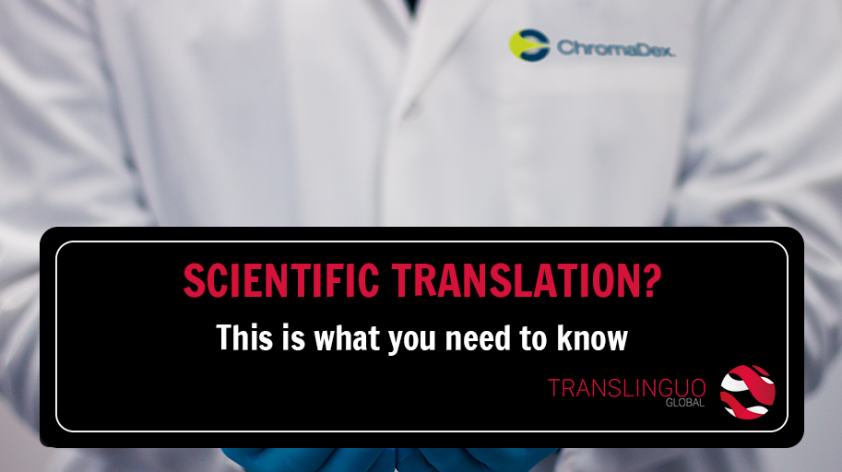 Scientific translation? This is what you need to know
