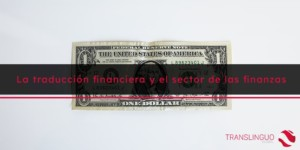 la traducción financiera