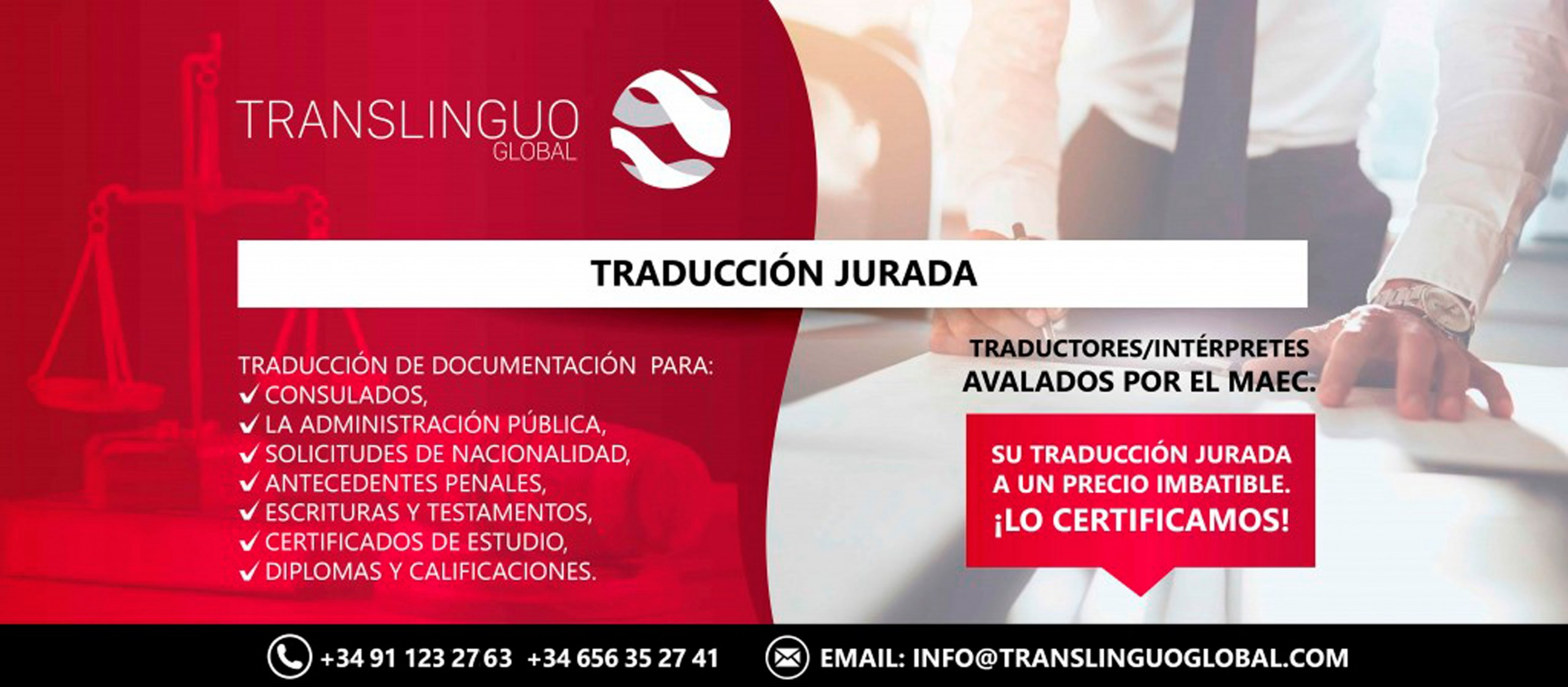 Traductor jurado en Pamplona