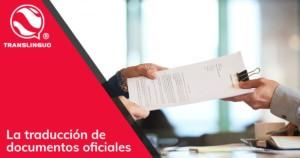 La traducción de documentos oficiales