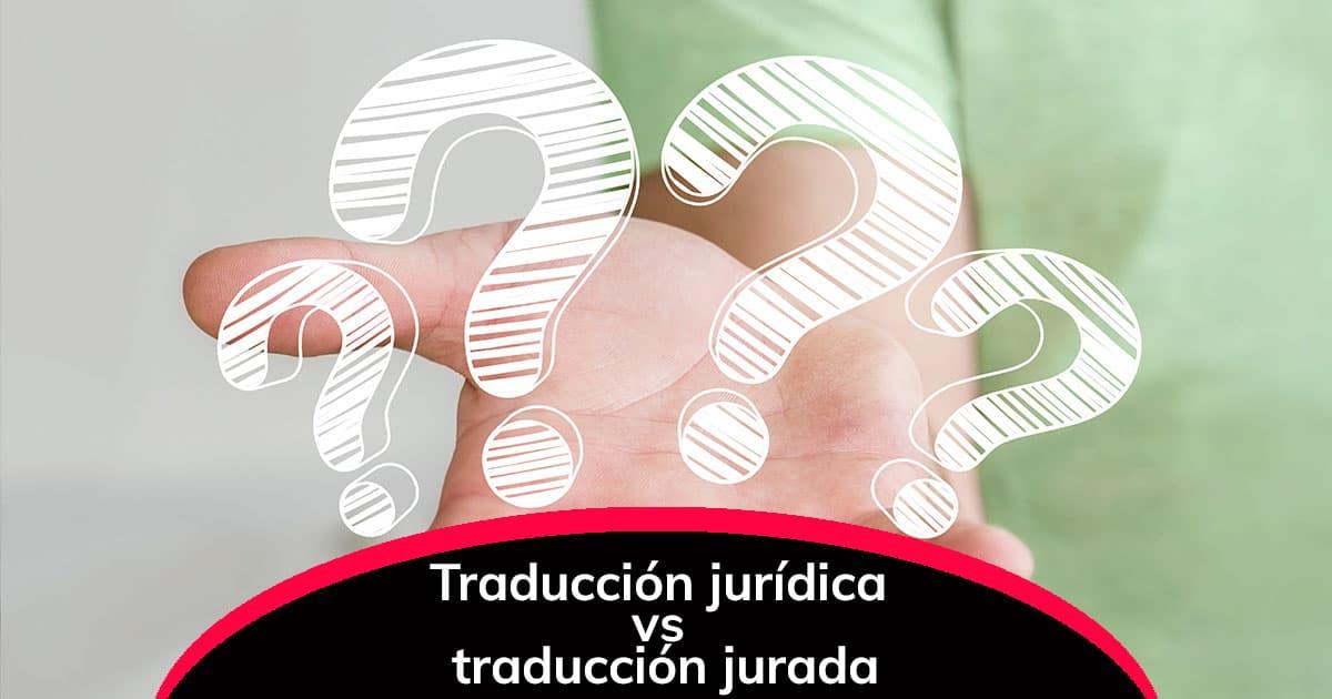 Traducción jurídica vs. traducción jurada