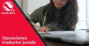 Oposiciones traductor jurado