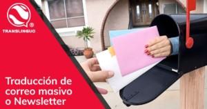 Traducción de correo masivo o Newsletter