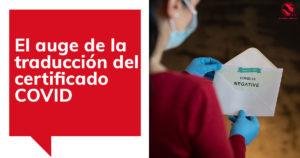 Traducción Jurada Certificado PCR y COVID